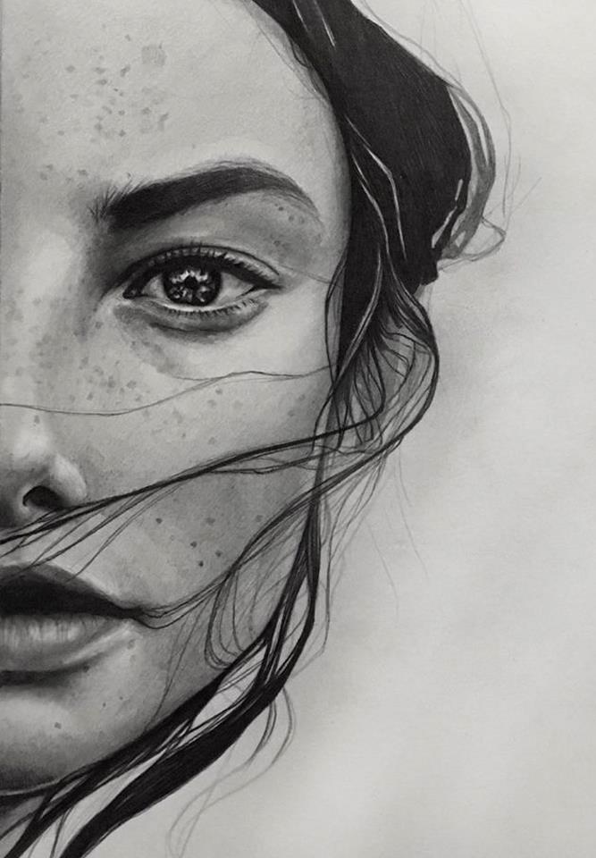 Winner pencil sketch of year 2017